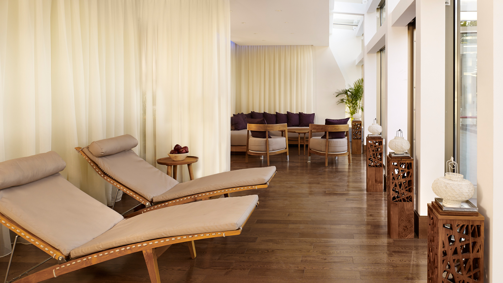 Experience relaxation at the Limegrove Fitness & Spa