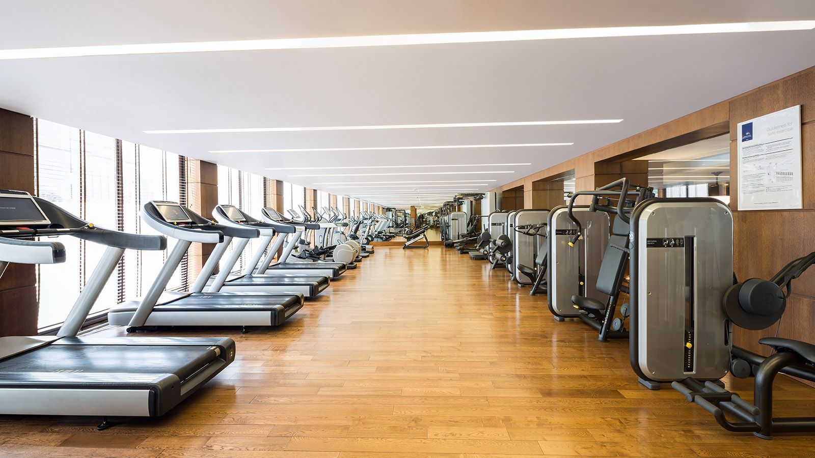Gym at Metropol Palace