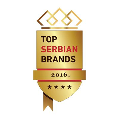 top serbian brands award 2016 logo