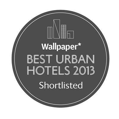 best urban hotels 2013 logo
